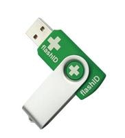 Australian designed flashID Emergency Indentifaction System gives medicos easy access to lifesaving key personal details