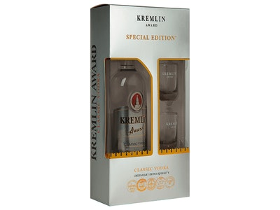 Kremlin Award Classic Vodka Gift Pack 700mL