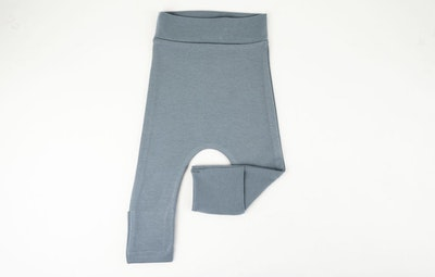 Toe Cover Harem Pants - Powder Blue