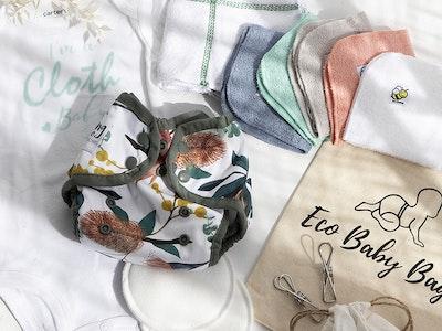 Cloth Baby | modern cloth nappies Eco Baby Bag