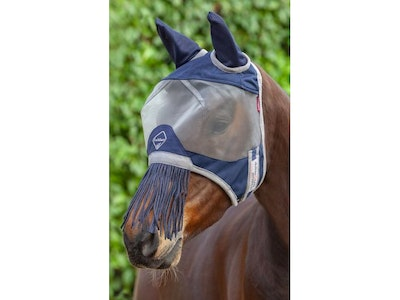 Lemieux *Discontinued* Armour Shield Fly Mask (nose fringe)