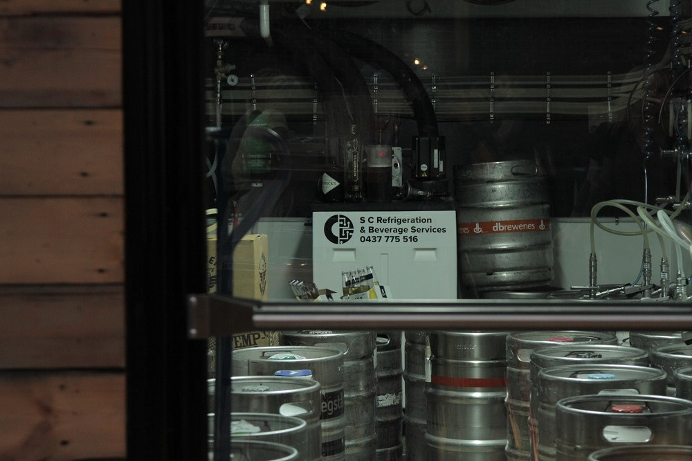 hop temple keg room
