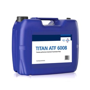 Fuchs Titan ATF 6008 20 Litre Plastic Cube ZF 8 Speed Spec