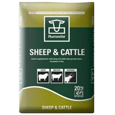 Barastoc Rumevite Sheep & Cattle Drought Ration Feeds Cubes 20kg