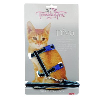Masterpet T&T Harness Velvet Stitch