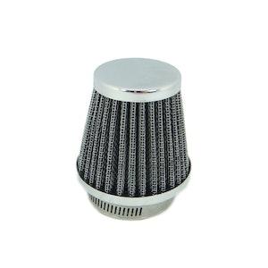 Tapered Chrome Pod Air Filter - 42 mm