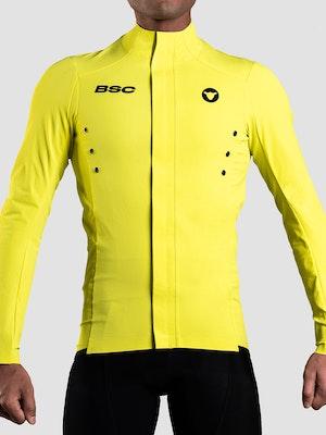 Black Sheep Cycling Men's Elements Micro Jacket - Yellow