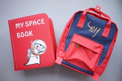 My First Book 3 – My Space Book (Red)