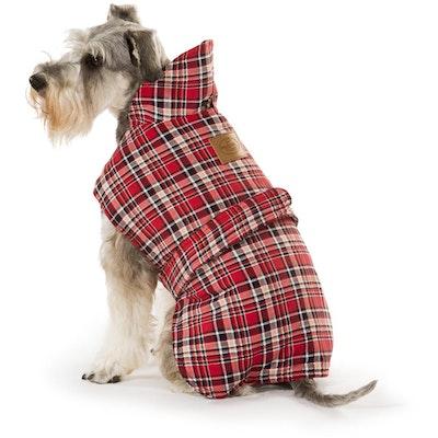 Hamish McBeth Tartan Red Dog Coat