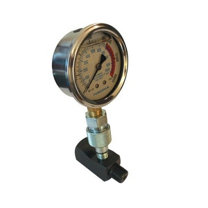 Sykes-Pickavant Gauge and Block Assembly