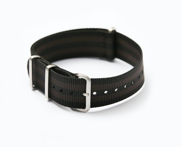 Time+Tide Watches  NATO Watch Strap 'COFFEE BOND'