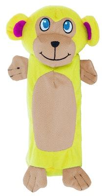 OUTWARD HOUND Bottle Gigglers Dog Toy - Monkey