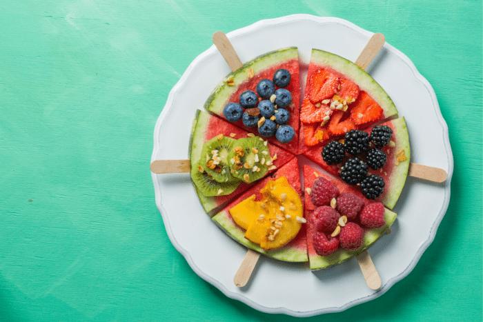 Obstpizza-für-Kinder