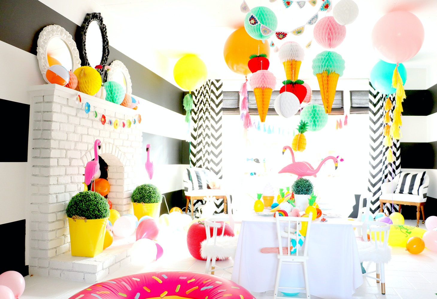 COLOUR SPLASH BIRTHDAY PARTY