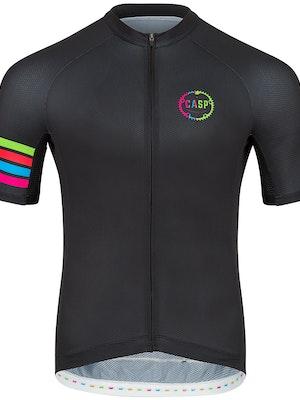 Casp Performance Cycling Classic Signature Jersey (Black)