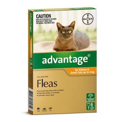 Advantage Flea Treatment <4kg Cat