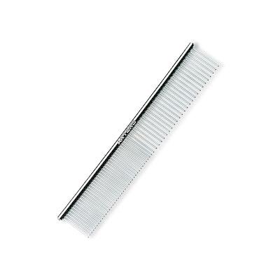 Artero Metal Pet Dog Grooming Comb Chrome Finish 18cm