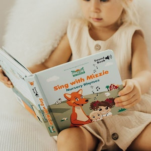 Mizzie the Kangaroo SOUND BOOK 'Sing With Mizzie - Nursery Rhymes'