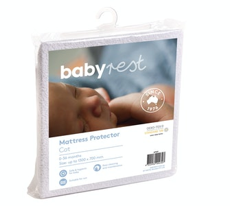 Babyrest Waterproof Cot Mattress Protector 1300 x 690 mm