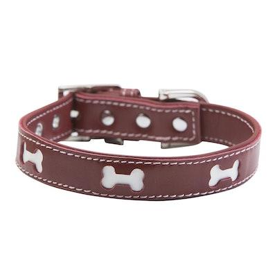 Hamish McBeth Red Bones Dog Collar