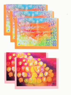 Diilhami Art Fabulous Floral 5 card pack