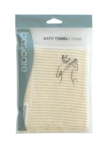 Basic Care Exfoliating Bath Towel 30cmx100cm