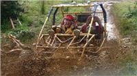 WOW factor hits as GoSee plays Gulliver in South Island tour and finds On Yer Bike Hagglund action and a magic mail run