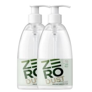 K-Mom Zero Dust Gel Hand Sanitiser 500mL (70% Ethanol) - Twin Pack