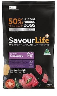 Savourlife Grain Free Adult Kangaroo 10kg
