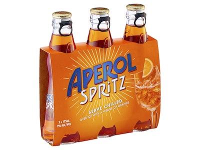 Aperol Spritz Bottle 175mL 3 Pack