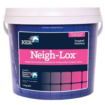 KENTUCKY EQUINE RESEARCH Ker Equivit Neigh-lox Horse Digestive Aid Feed Supplement 12kg