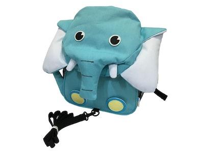 BibiLand BibiKids Medium Harness Back Pack with lead - ELEPHANT