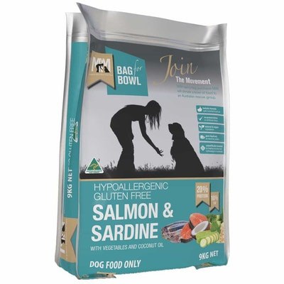 MEALS FOR MUTTS Adult Salmon & Sardine Dry Dog Food