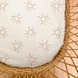 Grubbee Sun Fitted Cot Sheets