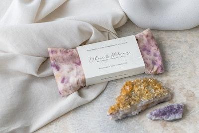 Ethics & Alchemy  Love Me - Rose Quartz filled Aromatherapy Eye Pillow