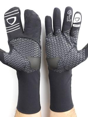 "Spatzwear SPATZ ""GLOVZ"" Race Gloves with fold-out wind blocking shell"