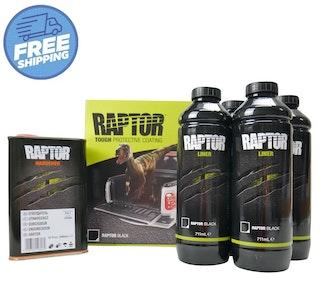 UPOL Raptor Bed Liner 4L Kit