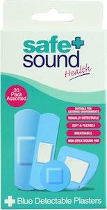 Safe + Sound Blue Detachable Plasters