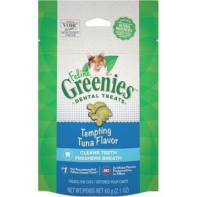 Greenies Cat Dental Treats Tempting Tuna Flavour - 2 Sizes