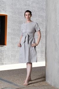 Quillan Clay Dress - Sage