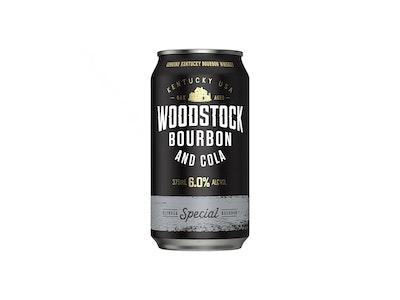 Woodstock Bourbon & Cola 6% Can 375mL