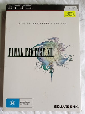 Final Fantasy XIII Ps3 Limited Collector's Edition
