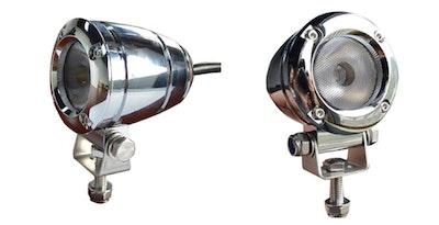 2 x 2 inch 1080 lm 10 watt Silver XML-T6 CREE LED Aluminium 45° Flood Light