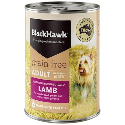 Black Hawk Grain Free All Breed Adult Dog Food Lamb - 2 Sizes