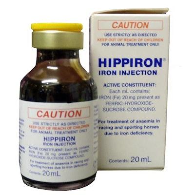 Hippiron Racing Iron For Horse Treatment 20ml