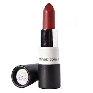 Catherine B Brick Red Lipstick
