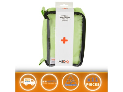 First Aid kit Outdoor Snake bite spider bite Camping Travel Module