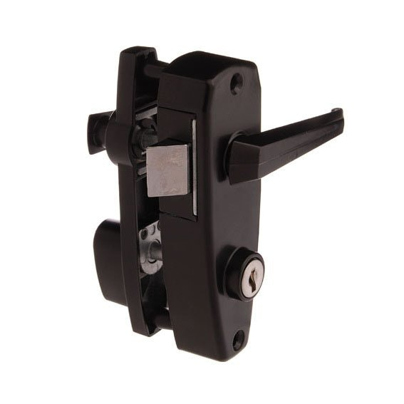 Whitco safety screen door latch in Black | Locks & Handles ...