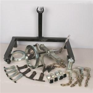 Hydraulic Truck Wheel and Hub Puller