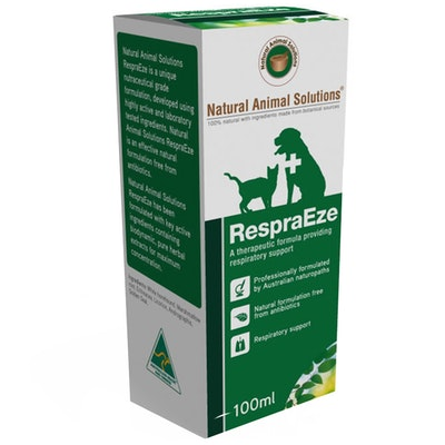 Natural Animal Solutions Nas Respreasze Animal Lung Treatment 100ml